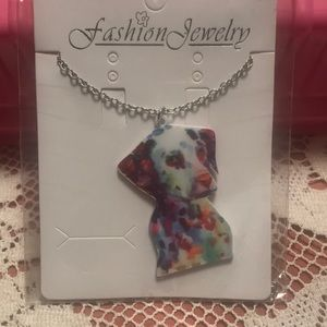 Jewelry - 🆕Abstract puppy dog necklace